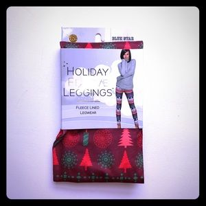 *3/$20* Holiday Festive Leggings Tree Hearts L/XL